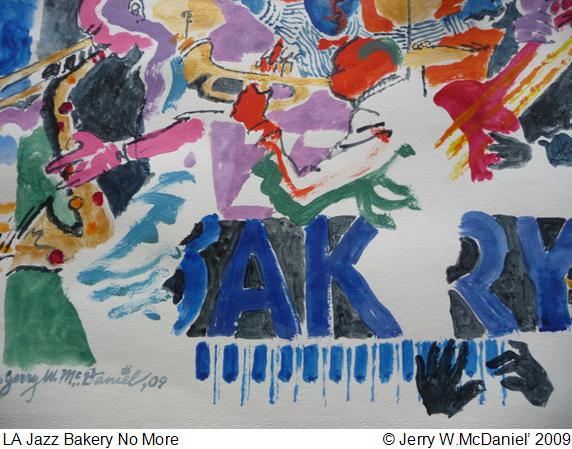 Jazz Bakery Watercolor