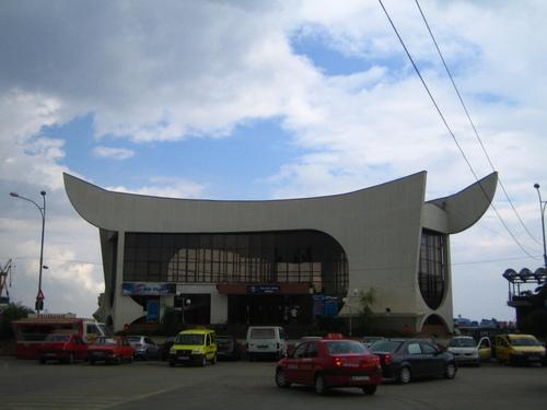 Gara Tulcea - Railwaystation Tulcea Arhitect Irina Rosetti